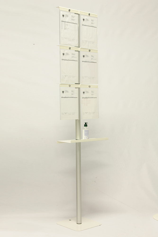 Column equipped for documentation